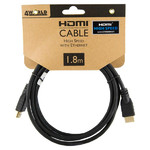 4World audio és video HDMI - HDMI aranyozott kábel 1,8m